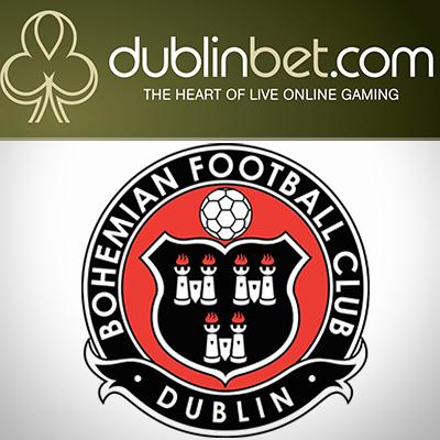Dublinbet.com sponsors Bohemian FC