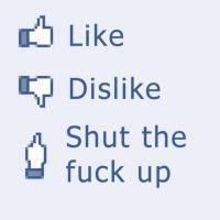 like dislike stfu