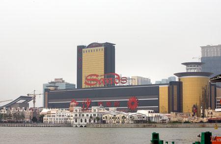 Sands China ahead in Macau