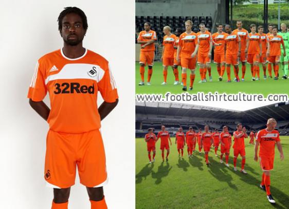 Swansea away strip