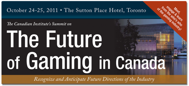 Gaming Conference: The Future of Gaming in Canada