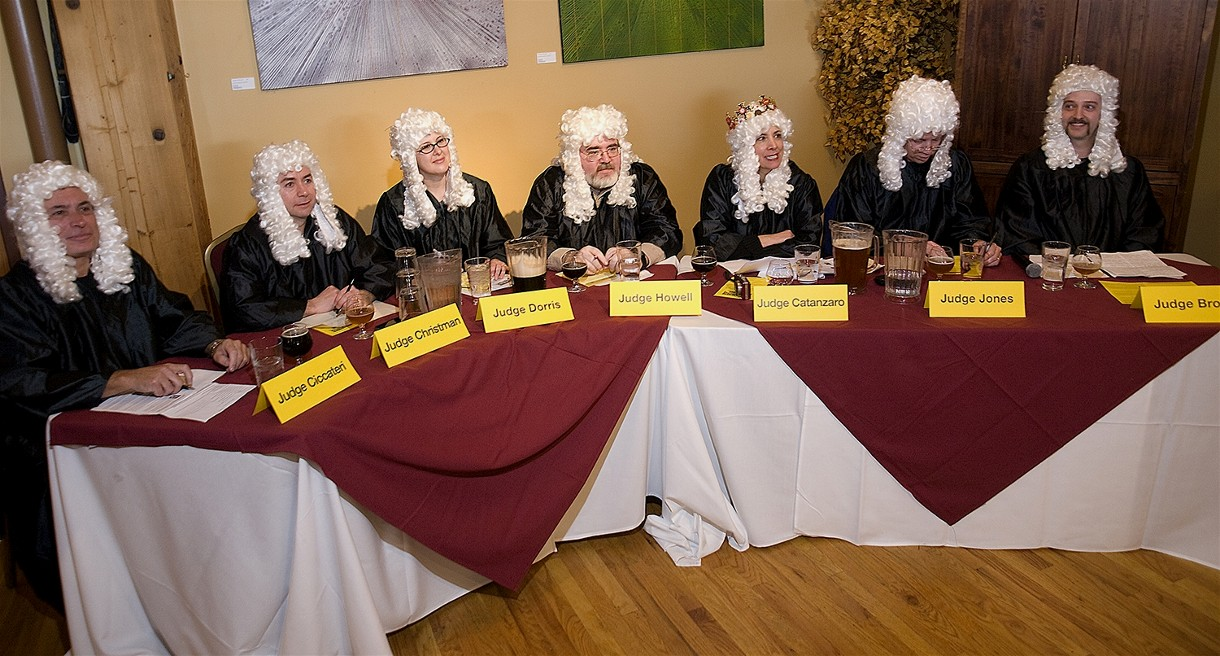 Lawyers with wigs