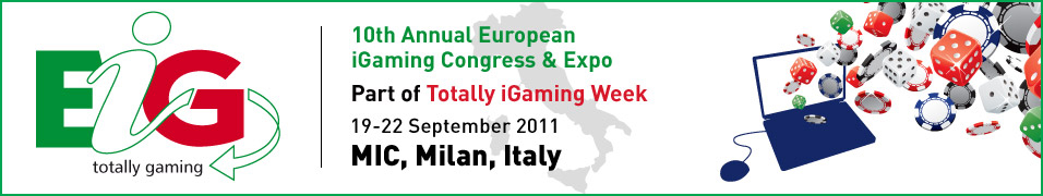 EiG Totally Gaming 2011 - Gaming Conference