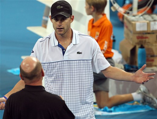Andy Roddick: Tennis rules too restrictive