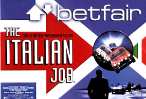 Betfair Italian job