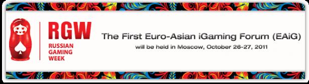 Euro Asian iGaming Forum - Russian Gaming Week - Gambling Conference