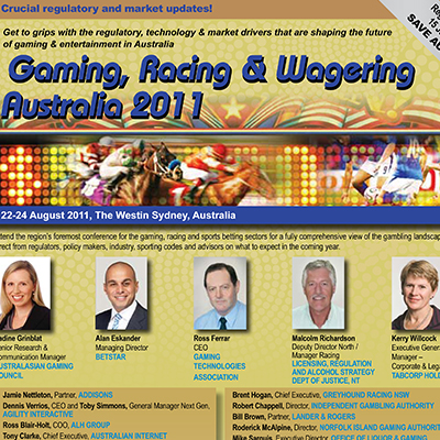 Gaming Racing and Wagering Australia 2011