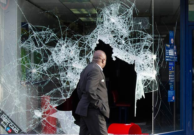 Gambling industry hit by London riots