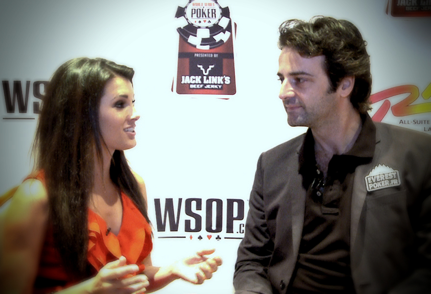 Interview with Everest Poker Pro – Fabrice Soulier