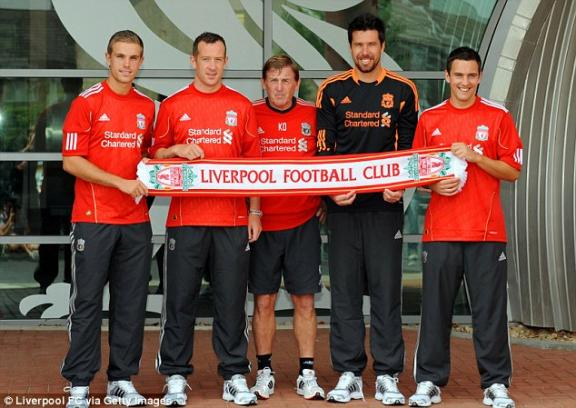 The Liverpool FC's new signings