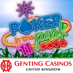 Genting Casino Sponsors Poker Dome in Poker in the Park 2011