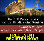 VegasInsider.com Football Handicapping Seminar, your opportunity to learn from the sharps!