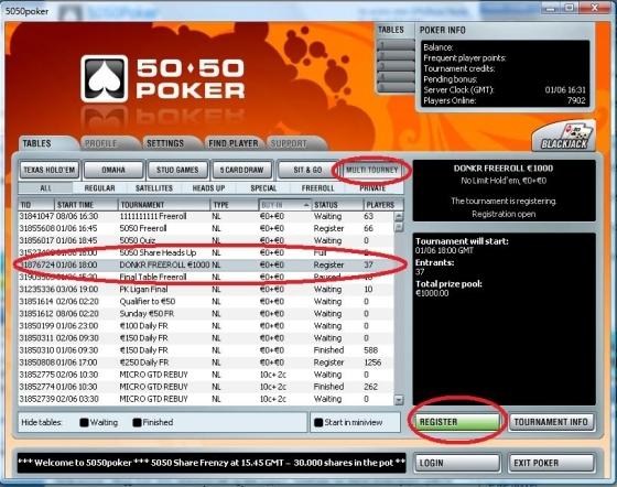 5050poker decides to go public