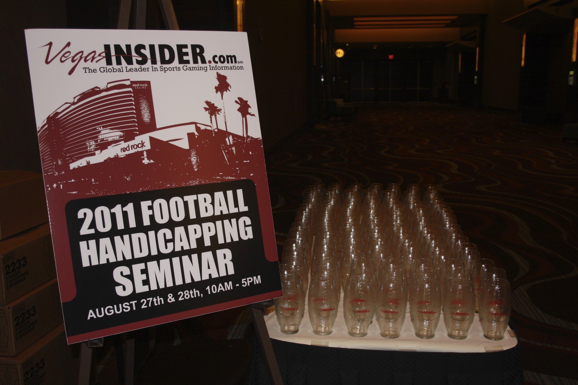 VegasInsider.com Football Handicapping Seminar Most Profitable Weekend of Year