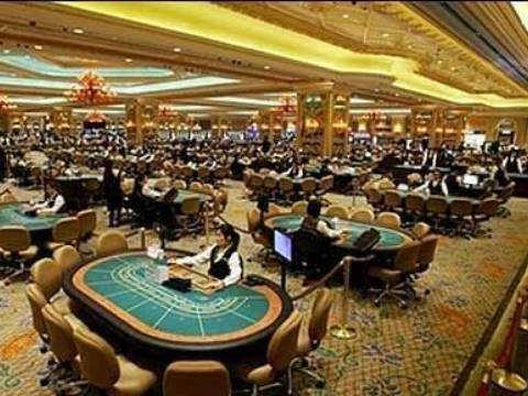 Inside Venetian Macau