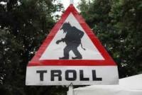 Troll signage