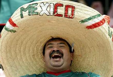 Mexican man with sombrero