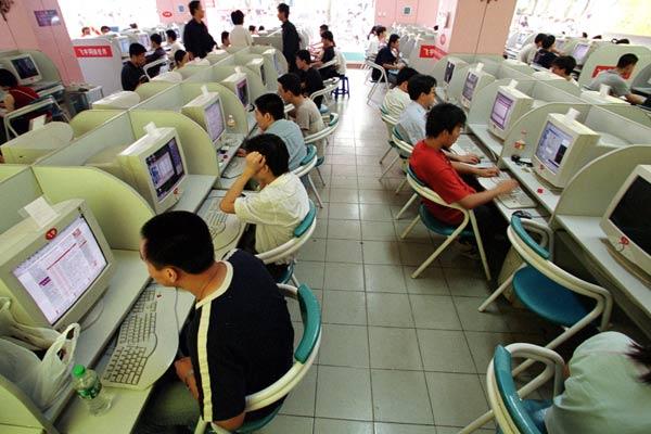 South Korea Internet Cafe