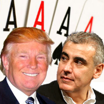 Donald Trump teams with hedge fund manager Marc Lasry for online poker venture