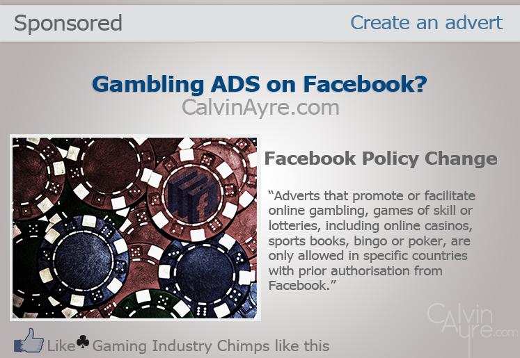 Gambling Ads on Facebook