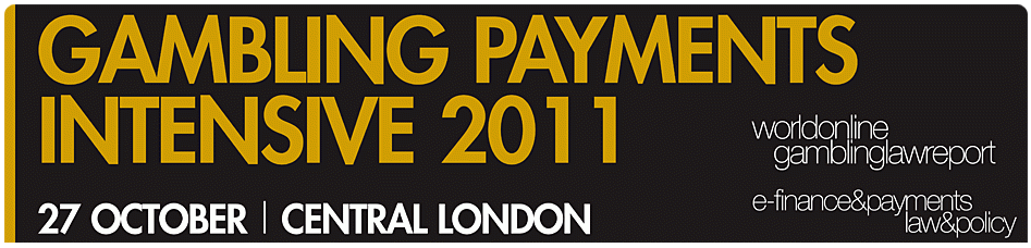 Gambling Payments Intensive 2011