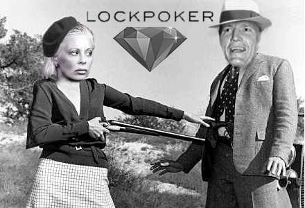 Shyster Bryce Vincent Geoffrey holes up with Lock Poker's Jennifer Larson