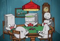 robots-playin-cards