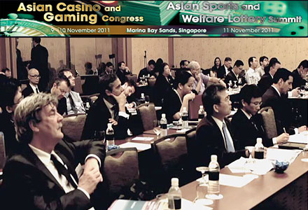 Asian Casino and Gaming Congress 2011 Day 1 Video