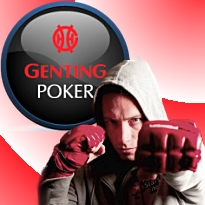 Genting Poker Series; Veldhuis' foot viciously attacked by Grospellier's skull
