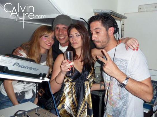 iGB España 2011 Official Party at Laydown DAF Award Jaki