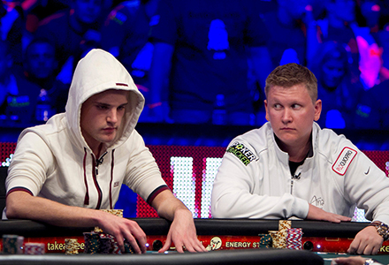 Pius Heinz and Ben Lamb WSOP 2011 Final Table Finalists