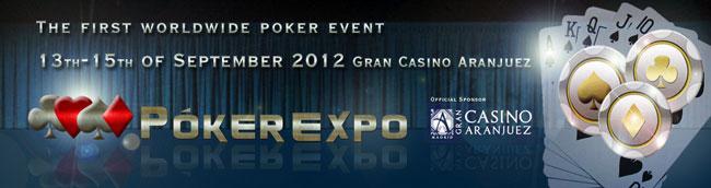 PokerExpo 2012 Madrid Spain