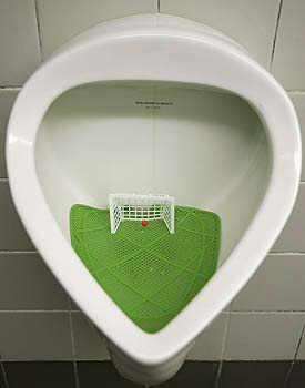 Soccer urinal