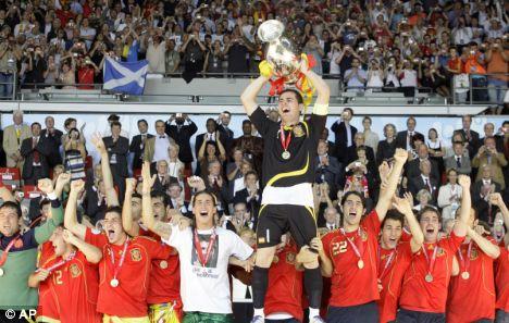 Spain Euro 2008