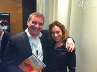 Paddy Power and Becky Liggero at the 2011 Sport and iGaming Conference