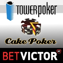 TowerGaming leaves Ongame; Cake hearts HUDs; BetVictor for Entraction players