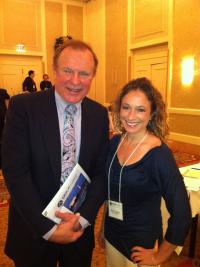 Senator Lesniak and Becky Liggero at The Digital Gaming & Lottery Policy Summit in DC