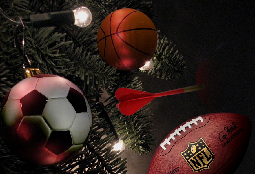 Festive sports action to get your teeth into