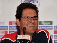 Capello laughing