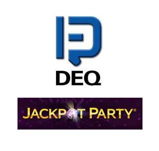 DEQ Systems issues stock options; Jackpot Party's fishy new slot