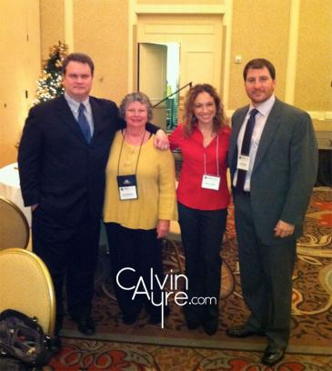 Joe Brennan, Sue Schneider, Becky Liggero and John Pappas at the DGLP Summit in DC