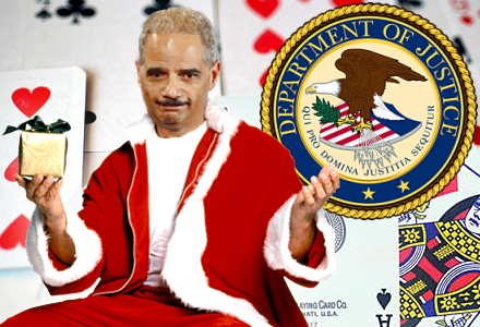 A Christmas present from the DoJ: Internet lotteries (and poker?) are legal