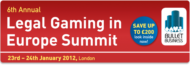 Legal Gaming in Europe Summit 2012