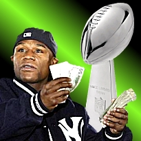 Mayweather bets $1m against Tebow; Super Bowl goes online and mobile