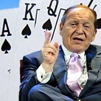 Sheldon Adelson says US online poker doesn't make good business sense