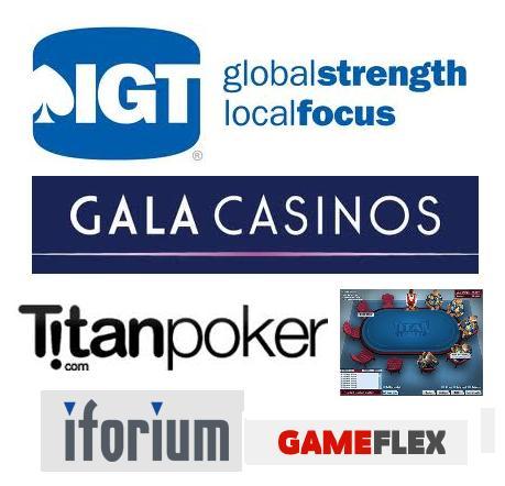IGT GALA TitanPoker Iforium Gameflex