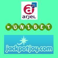 Arjel Unibet and Jackpotjoy