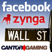 Zynga tops IPO price; Facebook IPO rumors; Cantor Gaming's profit problem