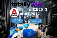 ice2012 and lac2012 hashtag CA