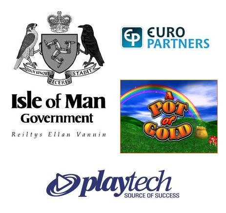 Isle of Man GDED announce new Pairplay gambling sites; Euro Partners redesigns logo and website; JPM Interactive launch A Pot of Gold game